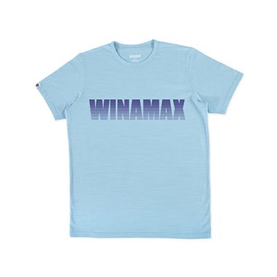 "T-Shirt Homme bleu logo ""Miramax"" Violet"