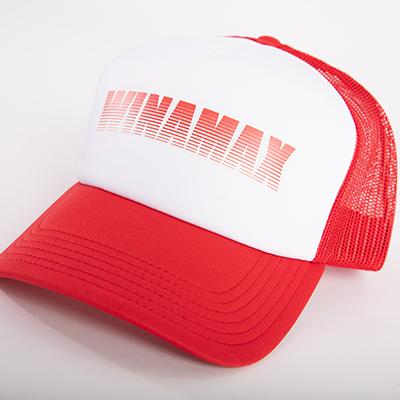 "Casquette Trucker rouge logo ""Miramax"" rouge"
